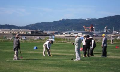 第5回 三谷温泉 観光協会長杯グラウンドゴルフ大会